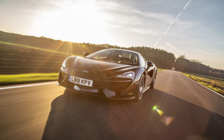 Test McLarena 570S Spider