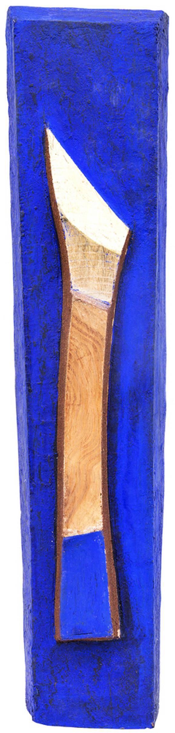 Bez naziva, 2012, drvo, boja, 54x12x7
