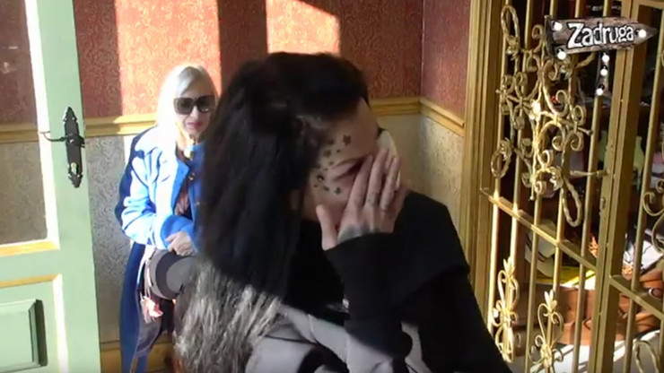 Jelena Krunić plače