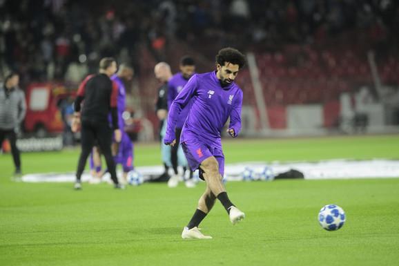 Mohamed Salah na Marakani pred meč Zvezda - Liverpul