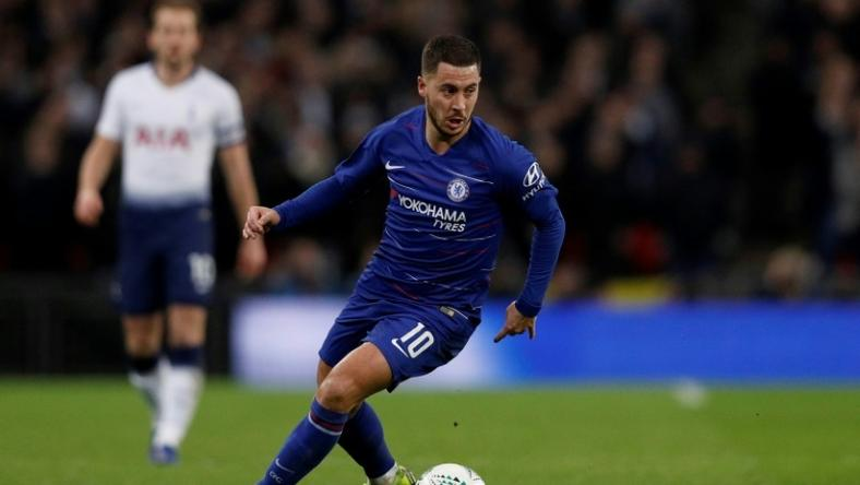 Eden Hazard has carried Chelsea's hopes during their recent dip
