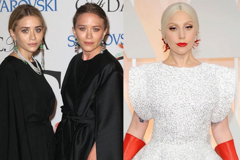 28 lat: bliźniaczki Olsen i Lady Gaga