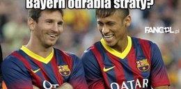 Memy po meczu Bayernu Monachium z Barceloną!