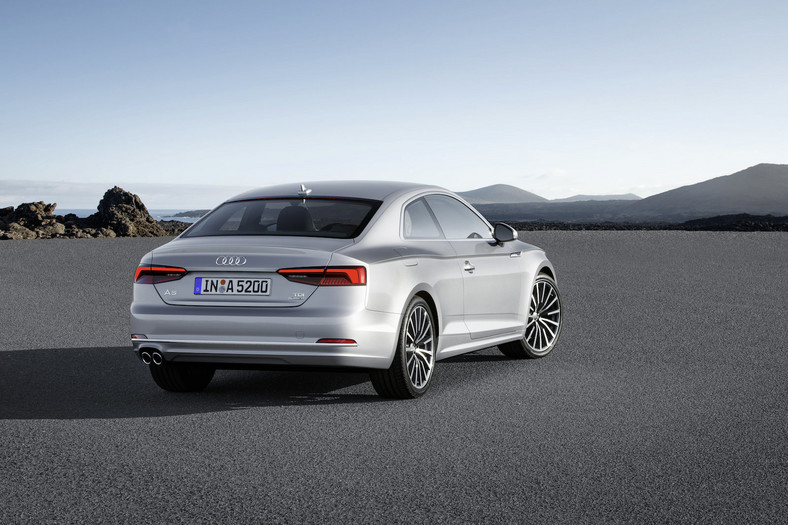 Nowe Audi A5 Coupe