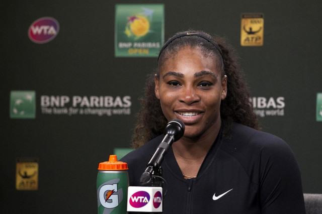 Serena pred novinarima posle prvog meča u pojedinačnoj konkurenciji od Australijan opena 2017.