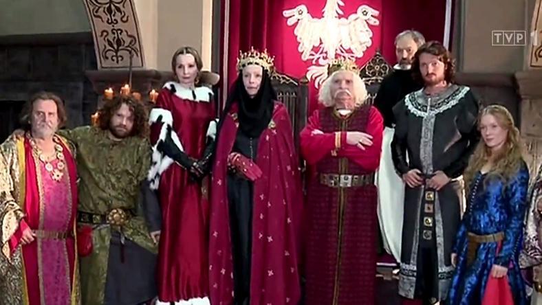 """""""Korona królów"""": kadr (screen TVP)"""