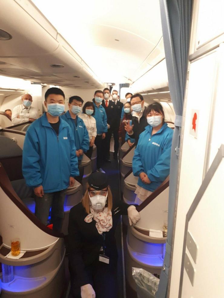 Er Srbija let za Kinu