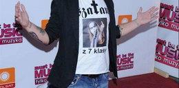 Znów zaszokował oryginalną koszulką