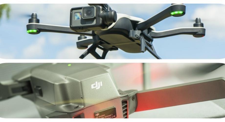 Vergleichstest: Die beste Kamera-Drohne von DJI & GoPro