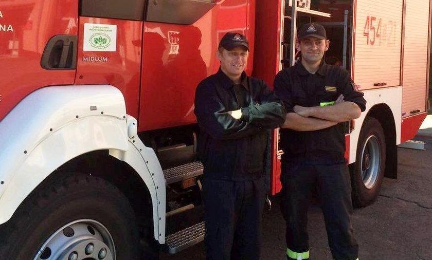 Pyskowice: Strażacy uratowali małą Madzię