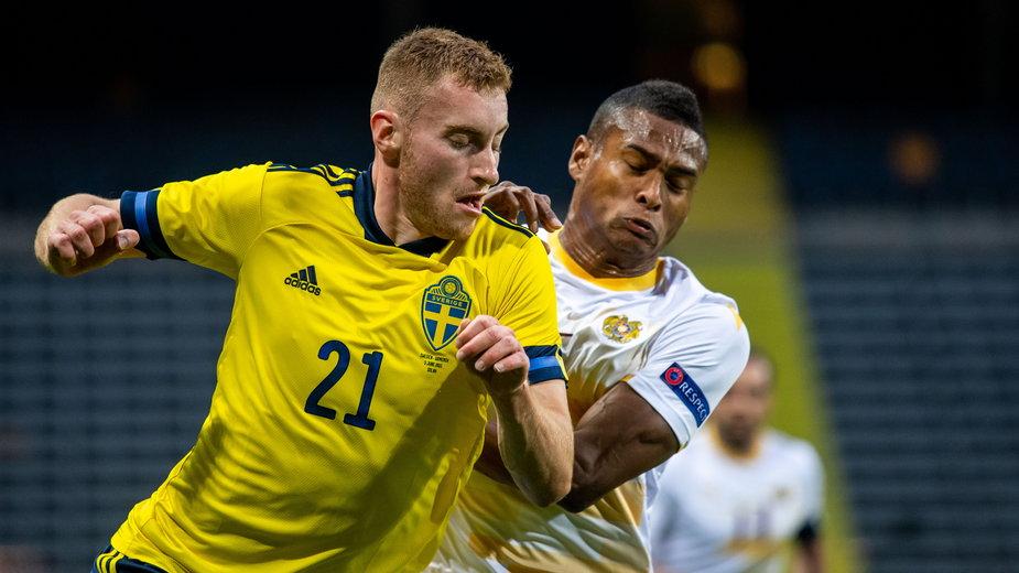 Dejan Kulusevski wraca do gry w reprezentacji Szwecji