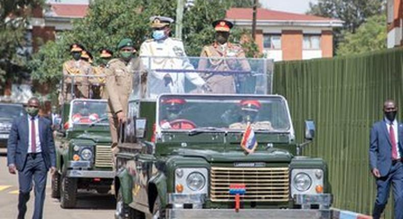 Army ushers in Chief of Defence Forces (CDF) designate