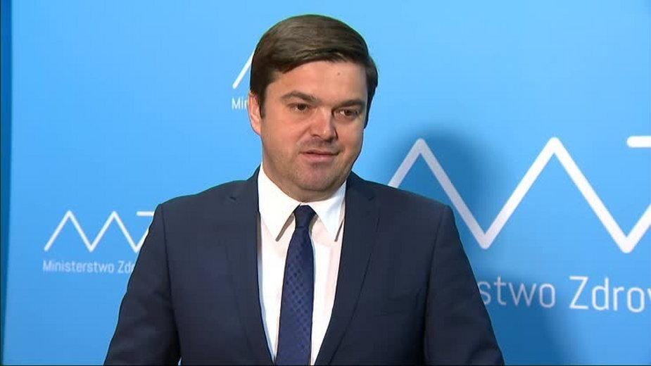 Wojciech Andrusiewicz, rzecznik MZ