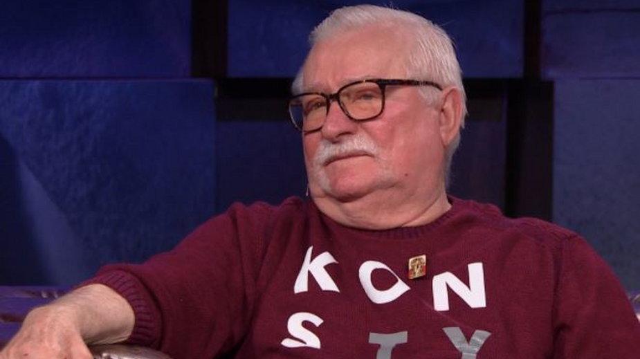 Lech Wałęsa w programie Kuby Wojewódzkiego