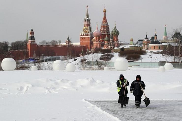 Moskva sneg