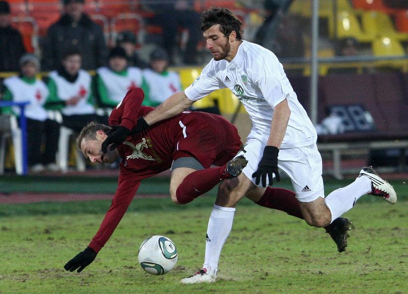 Boiskowy brutal - Zaur Sadajew, przez niego bramkarz straci nerkę!