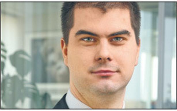 Grzegorz Pojnar, departament finansowania handlu, BNP Paribas Fortis Fot. Materiały prasowe