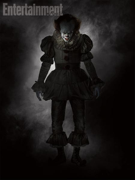 """It"": klaun Pennywise (fot. ew.com)"