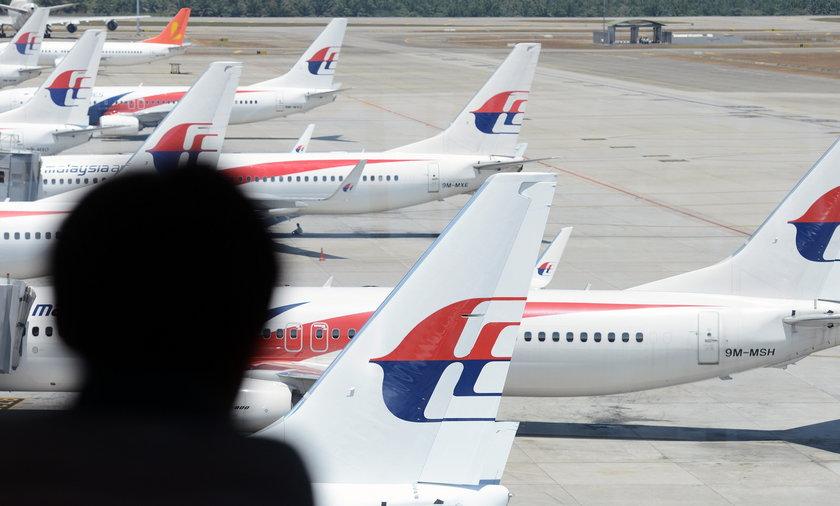 Malezyjskie samoloty