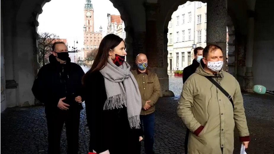 Dzisiejsza konferencja przewodniczących rad dzielnic w Gdańsku