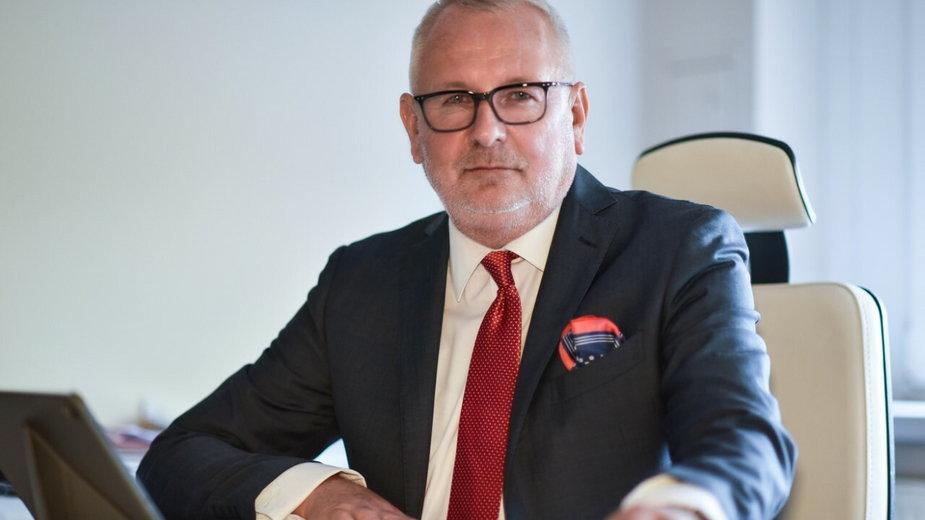 prof. Andrzej Matyja, prezes Naczelnej Rady Lekarskiej