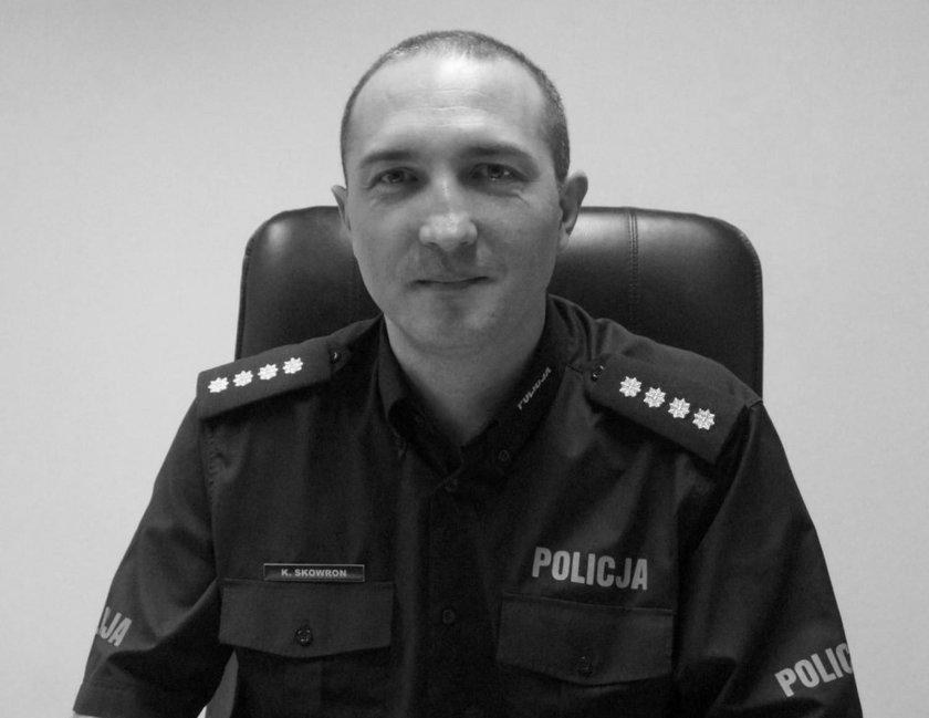 Śmierć komendanta policji w Mikołowie. Ksiądz usłyszał zarzut