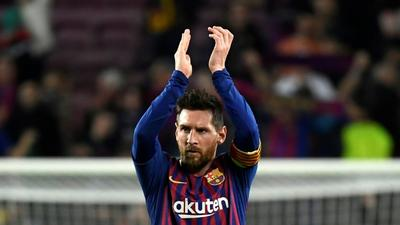 Lionel Messi's freekick against Liverpool voted UEFA goal of the 2018/2019 season
