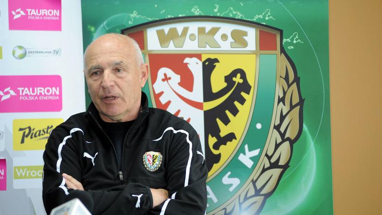 Trener Śląska Wrocław