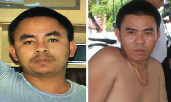 Braća Bah, Mai (levo) i Van Lim (desno), glavni igrači u kriminaloj industriji