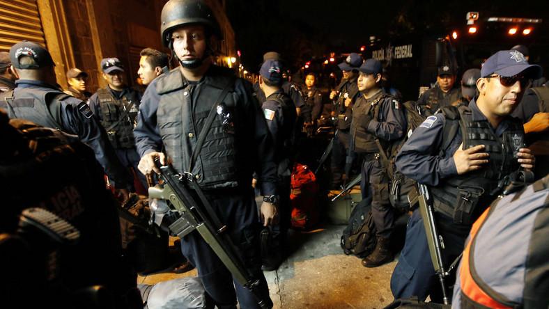 Krwawa wojna z narkobaronami w Meksyku