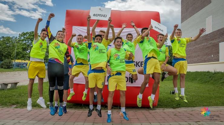 Sportske igre mladih, Vranje