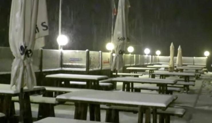Sneg, Italija