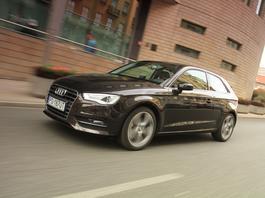Używane Audi A3 - drogie, ale ma wzięcie!