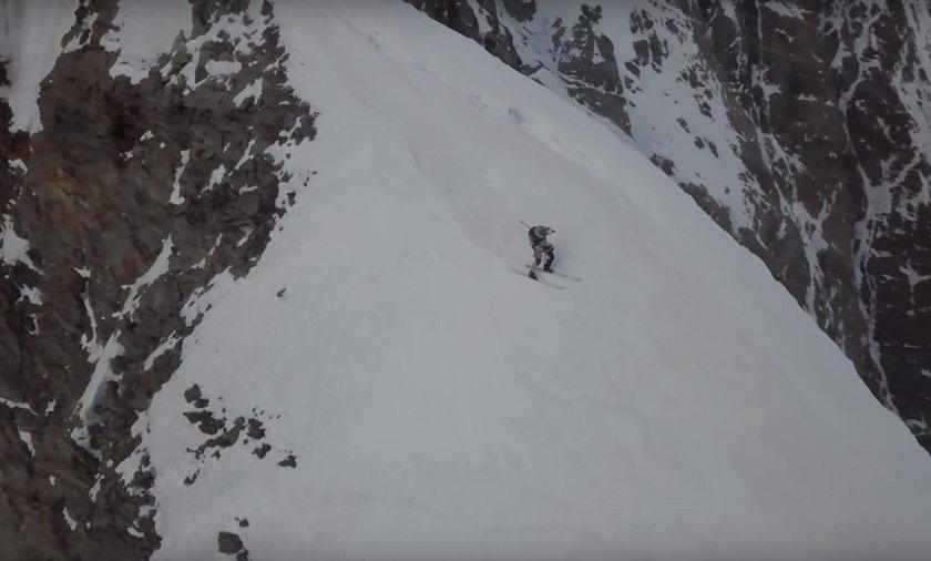 Tak Andrzej Bargiel zjeżdżał z K2