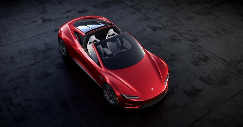 Tesla Roadster była niespodzianką