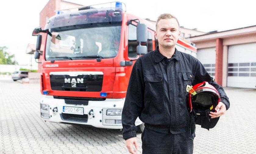 Jakub Walkowiak (33 l.) z Grodziska Wielkopolskiego zbiera na wóz dla Tanzanii