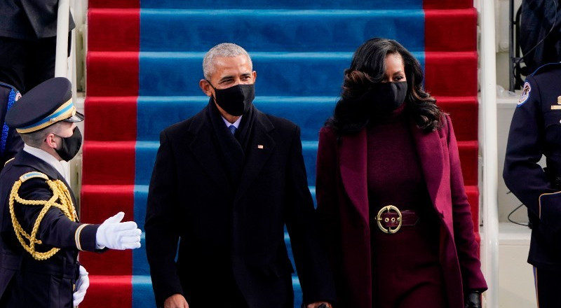 Michelle Obama steals spotlight at the Joe Biden's inauguration with stunning outfit