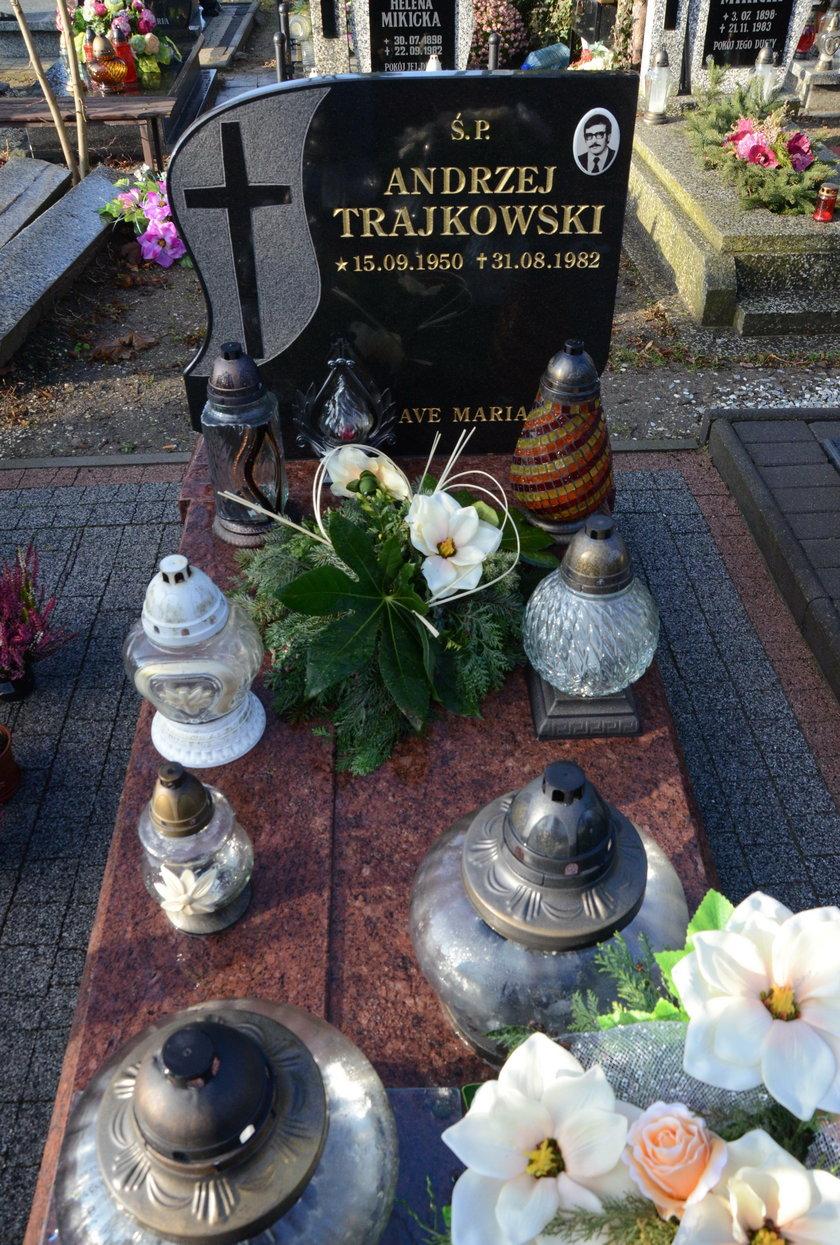 Grób Andrzeja Trajkowskiego