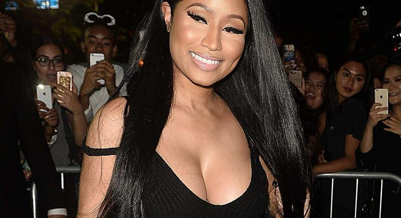 Nicki Minaj came home to broken perfume bottles and picture frames.
