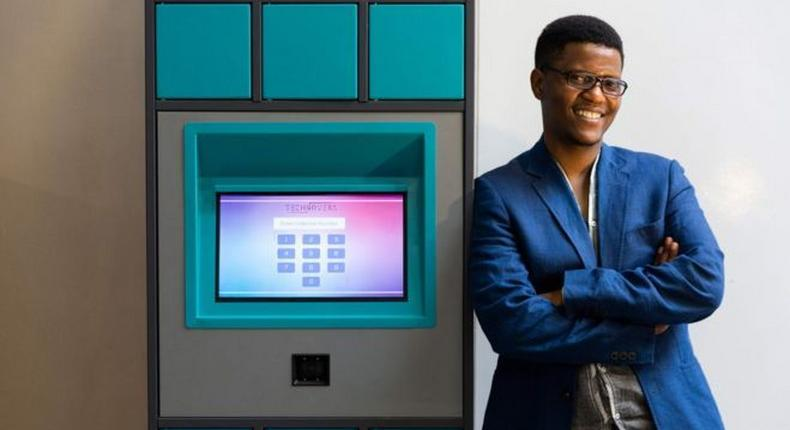 Neo Hutiri and his invention - the Pelebox, which is improving the healthcare system in South Africa (JAMES OATWAY)