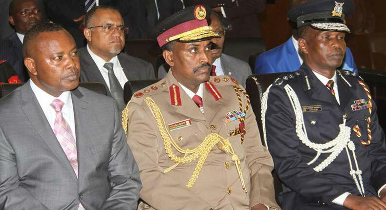 From left, George Kinoti, Noor Gabow and Edward Njoroge Mbugua