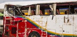Koszmarny wypadek autokaru. Nie żyje 12 turystów