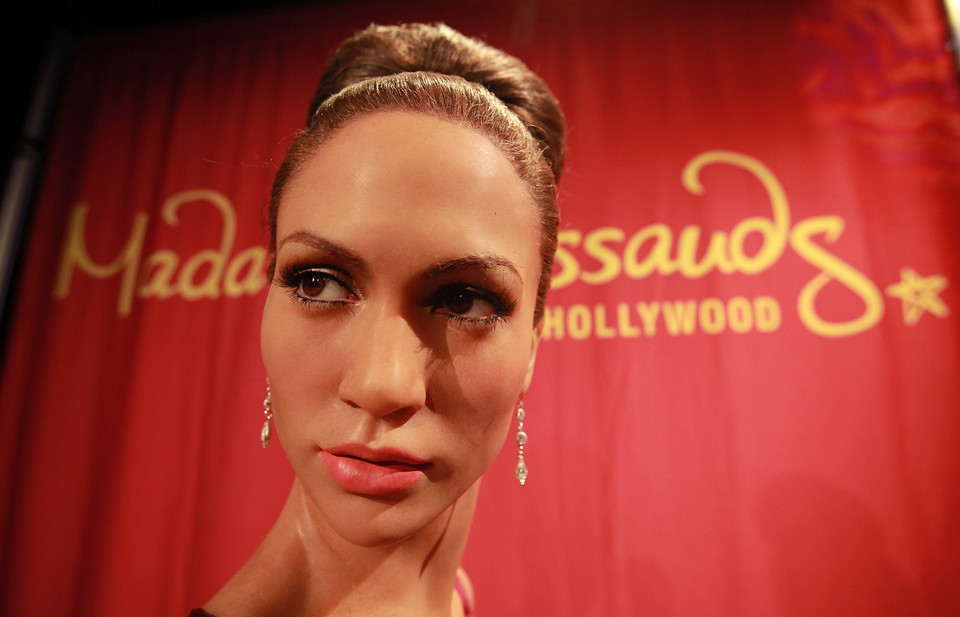 Figura woskowa Jennifer Lopez (fot. Getty Images)