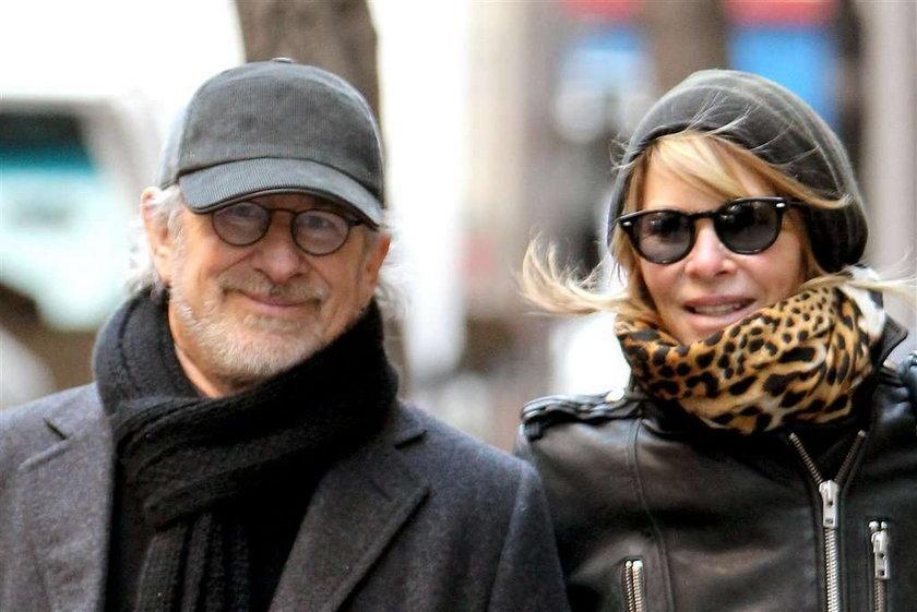 Oto żona słynnego reżysera! Nie pokazuje się z nim często