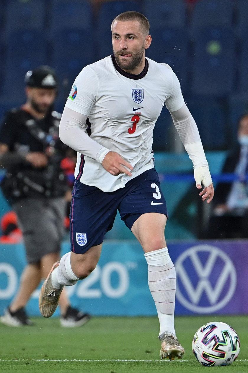 Luke Shaw (25 l.), obrońca, Manchester Utd.