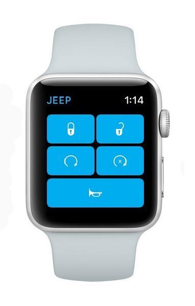 W zegarkach będzie można korzystać z aplikacji Jeep. Przyda się do sprawowania kontroli rodzicielskiej