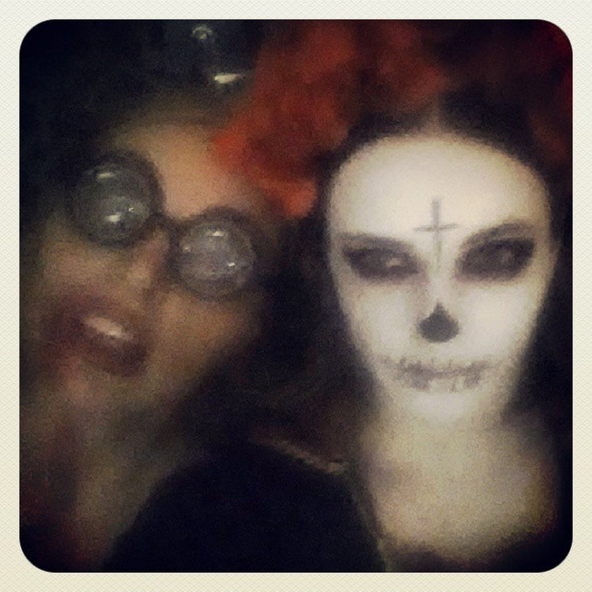 Edyta Herbuś na Halloween