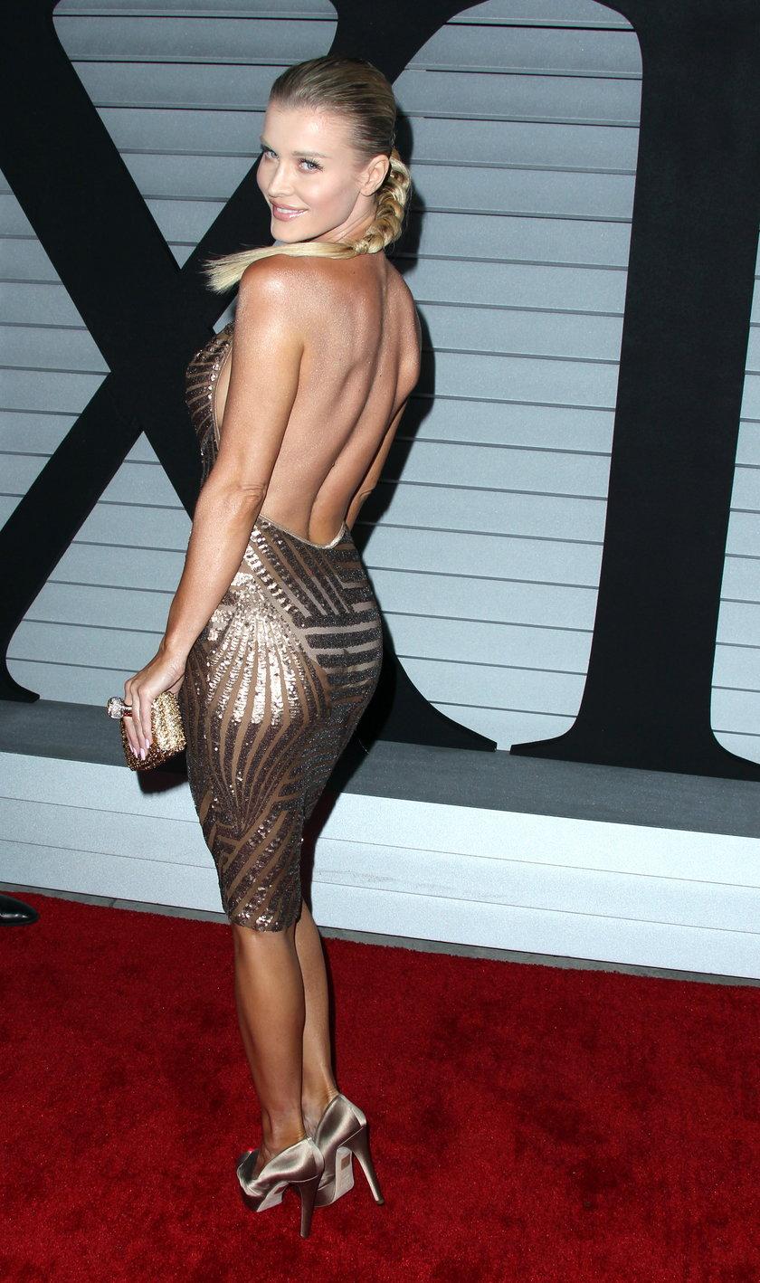 "Joanna Krupa na planie ""Top Model"""