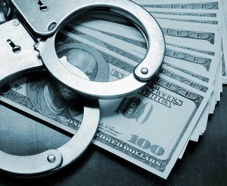 Men have a monopoly on the world's biggest financial crimes