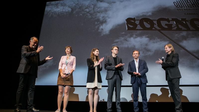 "Ekipa filmu ""Szron"" na festiwalu w Cannes (fot. PISF, Agata Dąbrowska)"